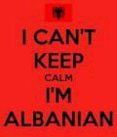 I am Albanian