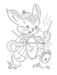 Discover Bunny embroidery patterns ideas on Pinterest