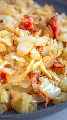 Supper Recipes, Side Dish Recipes, Vegetable Recipes, Best Side Dishes, Vegetable Side Dishes, Fried Cabbage Recipes, Cooked Cabbage, Cabbage Soup, Cooking Recipes