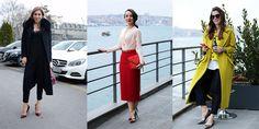 İstanbul Moda Haftası'nın ilk gününe katılanlar nasıl giyinmişler? Moda haftasına bir de sokaktan bakmaya ne dersiniz?