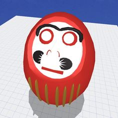 We designed this #Daruma in Morphiv1 during testing a while ago. We're excited to recreate it in Morphi 2.2! For those who are unfamiliar with Daruma, they are traditional Japanese dolls that are often seen as a symbol of #perseverance and #goodluck. The doll's eyes are sometimes blank when sold. The recipient of the doll fills in one eye upon setting a goal and then the other upon fulfilling it. #Japan #Japanese #traditionaldoll