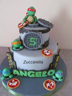 tartarughe ninja cakes - Cerca con Google