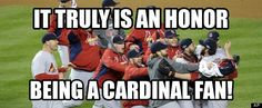 Yes it is  I'm so grateful to be part of Cardinal Nation!