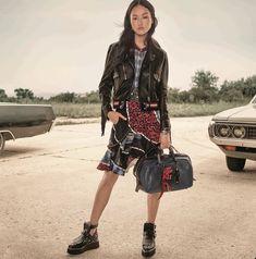 Jing Wen stars in Coach's resort 2017 campaign