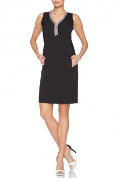 Gorgeous sleeveless little black  #little #black #dress #ss2015