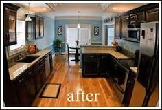 before and after kitchens - Google Search