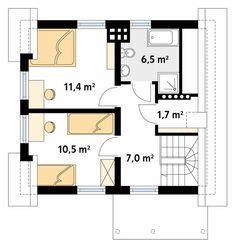 Dom, House Plans, Floor Plans, How To Plan, Home Decor, Sock, Home Plans, Projects, Decoration Home