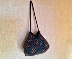Красивая вязаная сумка своими руками.