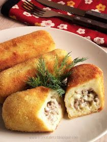 Best Appetizer Recipes, Best Appetizers, Dinner Recipes, Dessert Dishes, Polish Recipes, Party Snacks, Kids Meals, Food To Make, Food And Drink