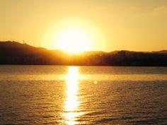 Nascer do Sol em Florianópolis/SC