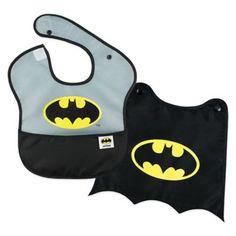 Bumkins® DC Comics™ Batman 2-Piece SuperBib Set with Cape - buybuyBaby.com