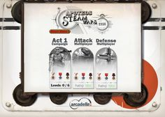 [게임 UI] Steam Wars: Apoteos : 네이버 블로그