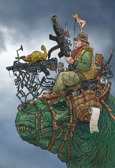 Artwork by Geof Darrow