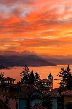 Lago Maggiore, Italy by Arno Hemmer