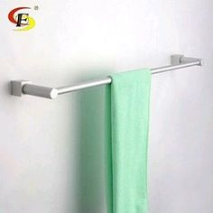 """Free Shipping 86024 Space Aluminum Towel Bar Towel Rack $18.98 - Https://Goo.Gl/K1Ly9W  Fixture Interesting Unique Mildlyinteresting House Supplies Materials Discount Construction Luxury Icon2 Rennovation Designer Realestate Home  Type: Towel Bars Length: 60Cm Feature: With Hook Number Of Bars: Single Towel Bars Model Number: Og-86024 Surface Finishing: Space Aluminum Material: Space Aluminum <a href=""""http://remodelstl.org"""" alt=""""St Louis Construction""""> <h2>St Louis Construction…"""