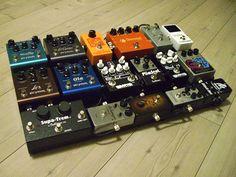 pedalboard : wampler + strymon //;