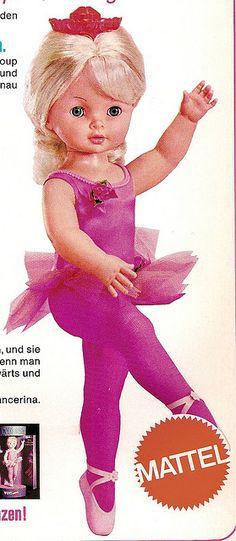 1970 Dancerina Mattel by diepuppenstubensammlerin, via Flickr