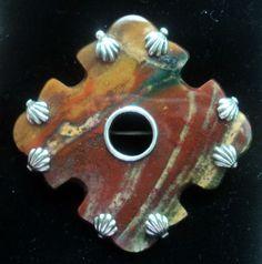 Scottish Silver Agate Brooch