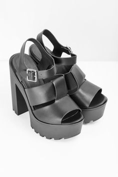 6e17ff4a4ce8 Pacifica Chunky Heeled Strappy Sandal Strappy Sandals