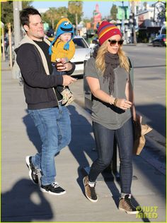 Hilary Duff & Mike Comrie: Family Fun Weekend with Luca!
