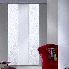 Panneau japonais, Zig zag blanc, H.250 x l.50 cm | Leroy Merlin Sweet Home, Curtains, Leroy Merlin, Home Decor, Ikea 2017, Ainsi, Recherche Google, Products, Flats