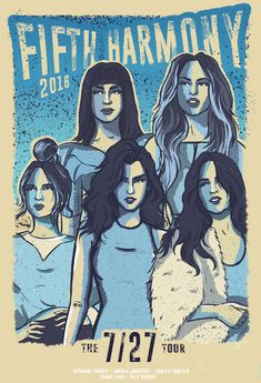 "Confira este projeto do @Behance: ""Official 7/27 Tour Poster - Fifth Harmony 2016"" https://www.behance.net/gallery/42076029/Official-727-Tour-Poster-Fifth-Harmony-2016"