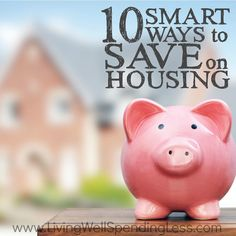 Need to find some wiggle room in your budget? Housing costs almost always take up the largest chunk of our monthly expenses, which means this category also presents a great opportunity to save. Don't miss these 10 smart ways to save on housing whether you rent or buy!