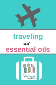 Curious about how to travel with your essential oils? I take mine everywhere!