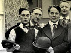 Buster Keaton & Charlie Chaplin