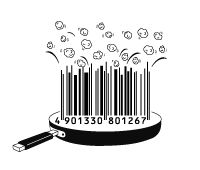 Popcorn barcode PD