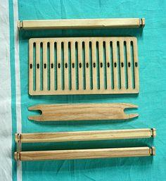 DIY weaving kit  backstrap loom rigid heddle loom by hoboholidays