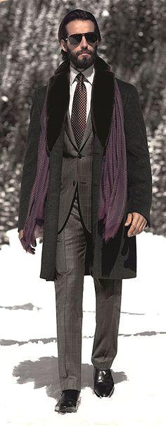 Pal Zileri Autumn Winter | Men's Fashion | Menswear | Men's Apparel | Men's Outfit for the Office | Business Style | Shop at designerclothingfans.com