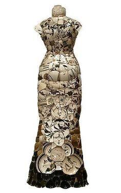 Porcelana Brasil: roupas de porcelana de Li Xiaofeng