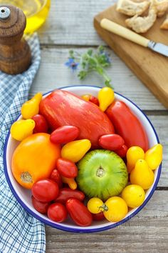 Heirloom Tomatoes | Le plaisir des mets - Delphine Paslin