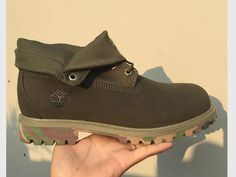 timberland boots for women, timberland roll top boots, timberland roll top boots uk, womens green roll top boots, timberland army green shoes for women, timberland roll top boots with camouflage sole