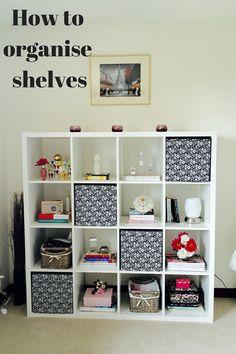 How to organise shelves - clarenablog.wordpress.com