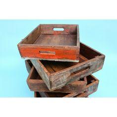 #Indian #Wooden #Trays - Vintage Staples - Pedlars #Vintage