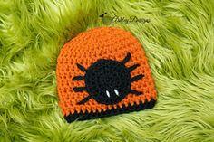 Spider Beanie (Newborn - Adult) ~ $3.99