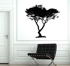 Wall Vinyl Decal Tree Branch Family Decor For Bedroom by BoldArtsy
