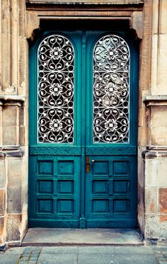 Door in Muenster, North Rhine-Westphalia, Germany·