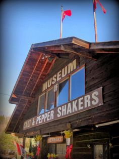 salt and pepper shaker museum in gatlinburg tn... Could go here and maybe I could get some for collection