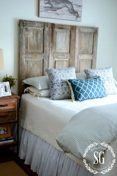 StoneGable FINDING INSPIRATION~ how to start decorating a bedroom http://www.stonegableblog.com/finding-inspiration-how-to-start-decorating-a-bedroom/ via bHome https://bhome.us