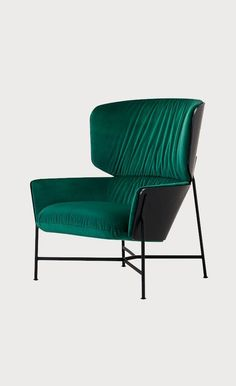 Caristo High Back Armchair, Design - Mod Wood Art Design Furniture, Chair Design, Furniture Decor, Sofa Chair, Couch, Chair Pads, Poltrona Design, Casa Milano, High Back Armchair
