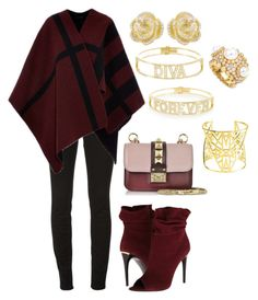 """""""Fall"""" by cecilia-rebecca-stagrum-buch on Polyvore featuring Spallanzani, Burberry, Vélizance, Chanel, Effy Jewelry and Valentino"""
