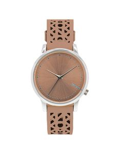 Komono Estelle Cutout Seashell Silver - Women Wrist Watch on YOOX. The best  online selection of Wrist Watches Komono. 9da38871264
