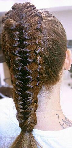 #Double #fishtail #braid