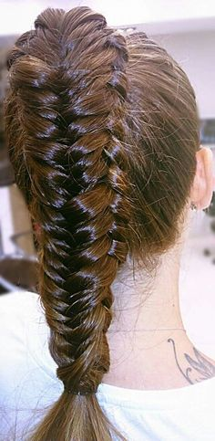#Double #fishtail #braid