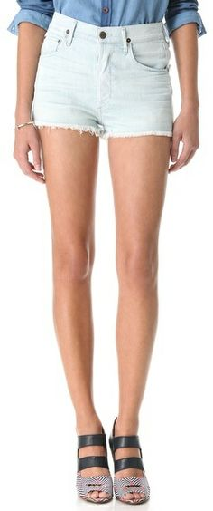 Citizens of Humanity Chloe High Waist Shorts on shopstyle.com