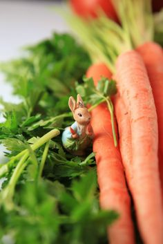The Novel Bakers present Beatrix Potter Week . At Home with Beatrix Potter It's almost Easter, a time when porcelain bunnies appe. Beatrix Potter, Carrot Farm, Carrot Top, Peter Rabbit And Friends, Rabbit Garden, Hunny Bunny, Easter Parade, Easter Celebration, Spring Sign