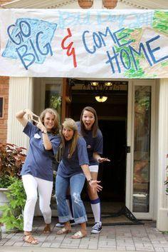 Go big, come home.